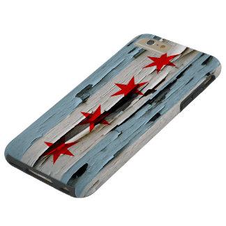 Mirada de la cáscara de la pintura de la bandera funda para iPhone 6 plus tough