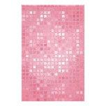 Mirada de la lentejuela del rosa color de rosa papeleria personalizada