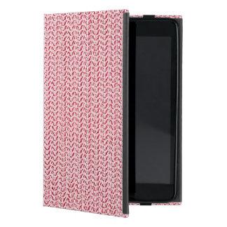 Mirada de la malla de la armadura del rosa en iPad mini protector