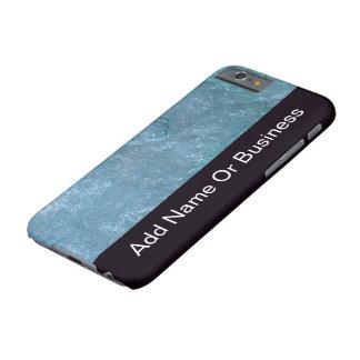 Mirada de la piedra del negocio de los hombres funda de iPhone 6 barely there