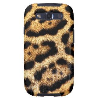 Mirada de la piel del leopardo galaxy s3 protector