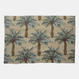 Mirada de la textura de la tapicería de las toallas de mano