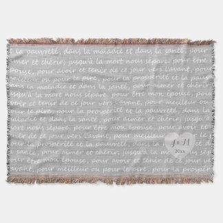 Mirada de lino gris de la arpillera con votos de manta