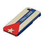 Mirada de lino sucia Cuba Libre iPhone 5 Carcasa