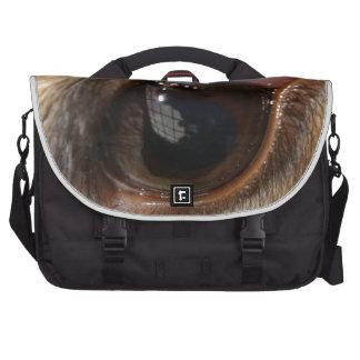 Mirada de los ciervos en mis ojos bolsa de ordenador