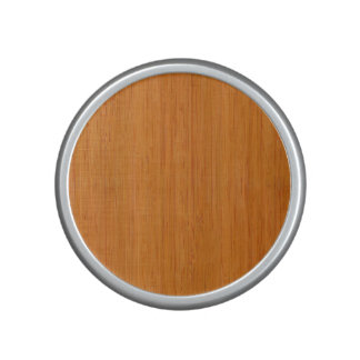 Mirada de madera de bambú ambarina altavoz