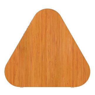 Mirada de madera de bambú ambarina del grano altavoz bluetooth