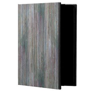 Mirada de madera de bambú curtida del grano