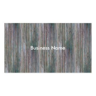 Mirada de madera de bambú curtida del grano tarjetas de visita