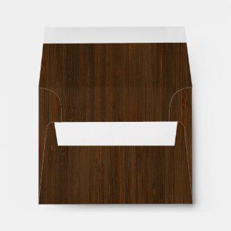 Mirada de madera de bambú del grano de Brown de la Sobres