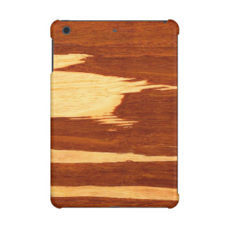 Mirada de madera de bambú del grano de la raya del