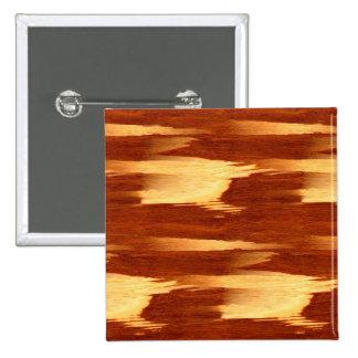 Mirada de madera de bambú del grano de la raya del pin cuadrado