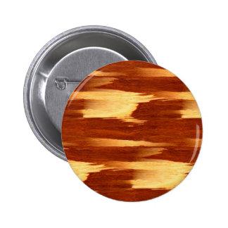 Mirada de madera de bambú del grano de la raya del pin redondo de 2 pulgadas