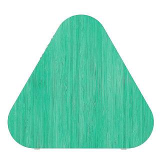 Mirada de madera de bambú del grano del verde de altavoz bluetooth