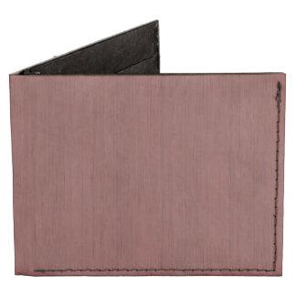 Mirada de madera de bambú del grano del vino rojo billeteras tyvek®