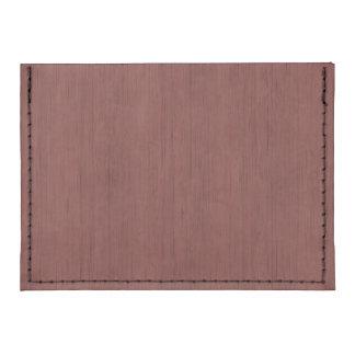 Mirada de madera de bambú del grano del vino rojo tarjeteros tyvek®