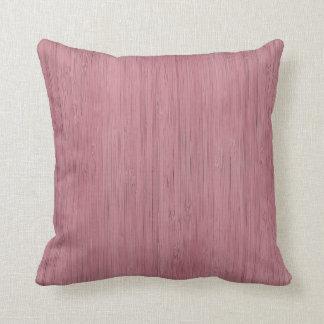Mirada de madera de bambú púrpura de color de cojín decorativo