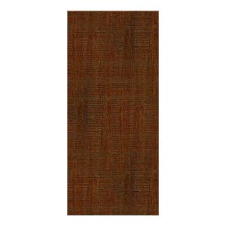 Mirada de madera de bambú rústica de la textura tarjeta publicitaria a todo color