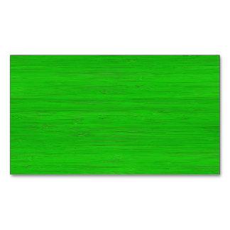 Mirada de madera de bambú verde clara del grano tarjetas de visita magnéticas (paquete de 25)