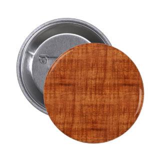 Mirada de madera del grano del acacia rizado pin redondo de 2 pulgadas