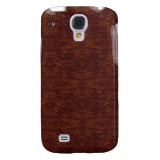 Mirada de madera iPhone3G Funda Para Galaxy S4