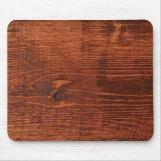Mirada de madera manchada Mousepad Tapete De Raton