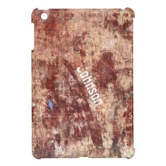 Mirada de madera rasguñada fresca del Grunge con n iPad Mini Cárcasa