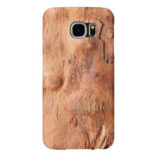 Mirada de madera rústica fresca de la textura - fundas samsung galaxy s6