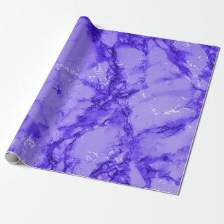 Mirada de mármol purpúrea clara de la textura papel de regalo