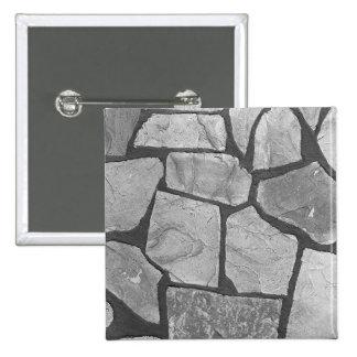 Mirada de pavimentación de piedra gris decorativa pin cuadrada 5 cm