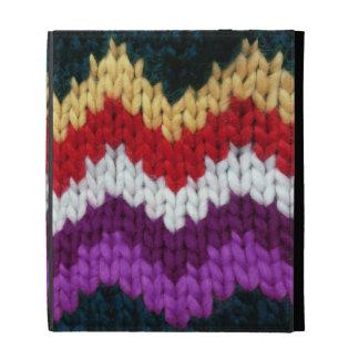 Mirada de punto del suéter colorida