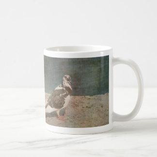 Mirada de varios colores de Grunged de la paloma e Taza De Café