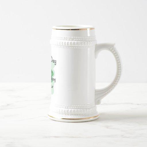 mirada del arroz del st taza de café