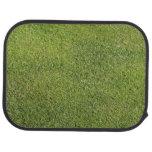 Mirada del césped de la hierba verde alfombrilla de coche