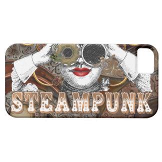 mirada del collage steampunked del steampunk con iPhone 5 Case-Mate cobertura