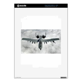 MIRADA DEL FRENTE DEL RAYO DE AFGANISTÁN A-10 iPad 2 SKIN