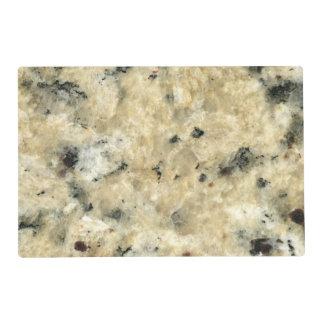 Mirada del granito tapete individual