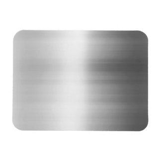 Mirada del metal del acero inoxidable iman flexible