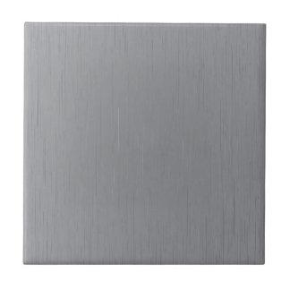 Mirada del metal plateado azulejo cuadrado pequeño