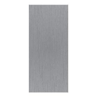 Mirada del metal plateado lonas personalizadas