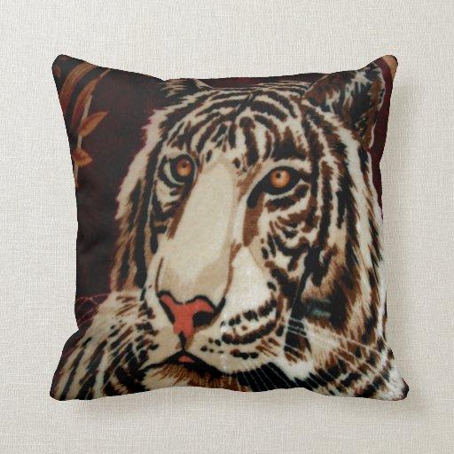 mirada del tigre adelante al amor almohadas