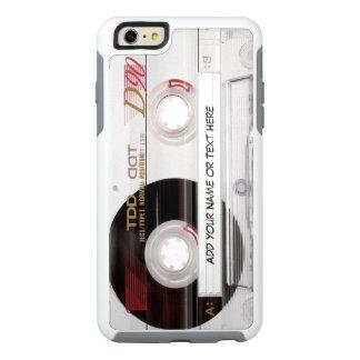 Mirada divertida de la cinta de casete del vintage funda otterbox para iPhone 6/6s plus