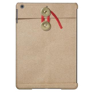 Mirada divertida del sobre del papel de Kraft (sob Funda Para iPad Air