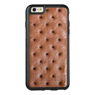 Mirada divertida y dulce del bocadillo del helado funda otterbox para iPhone 6/6s plus