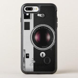 Mirada divertida y fresca de la cámara del vintage funda OtterBox symmetry para iPhone 7 plus