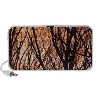 Mirada en la luz del bosque iPhone altavoz