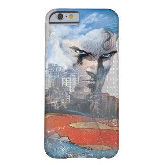 Mirada fija del superhombre funda para iPhone 6 barely there