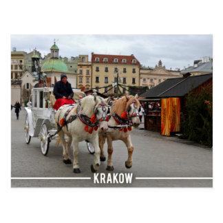 Mirada fija Miasto, Kraków Polonia Tarjetas Postales
