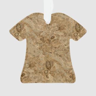 Mirada fósil de mármol de Brown