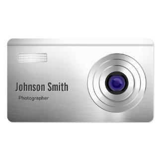 Mirada fresca de la cámara digital - fotógrafo tarjetas de visita